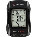 Sigma ROX 10.0 GPS Cycling Computer with ANT+ Speed, Cadence and Heart Rate: Black