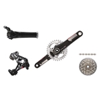 2014 XX1 Twist Shift GXP 175mm 168Q Kit-In-A-Box  No Chain Ring, No Brakes, No Bottom Bracket