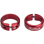 Salsa Lock-On Collars Red