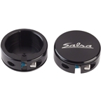 Salsa Lock-On Collars Black Closed-End