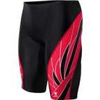 TYR Phoenix Durafast Elite Splice Jammer: Black/Red