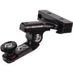 "K-EDGE Universal Camera 1/4""-20 Pro Saddle Rail Mount: Black"