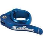 Salsa Flip-Lock Seat Collar 30.0 Blue