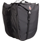 Banjo Brothers Saddlebag Panniers: Black; Pair