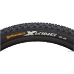 "Continental X-King Tire 27.5 x 2.4"" ProTection Folding Bead with Black Chili Rubber (650b)"