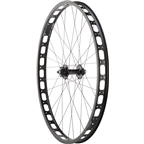 Surly Rabbit Hole Rear Wheel: 29+ QR x 135mm 17.5mm Offset Single-Speed, Black