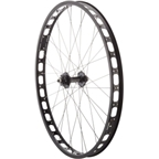 Surly Rabbit Hole Rear Wheel: 29+ QR x 135mm 0mm Offset Single-Speed, Black