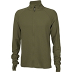 Surly Merino Wool Long Sleeve Jersey: Army