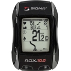 Sigma ROX 10.0 GPS Basic Cycling Computer: Black