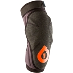 SixSixOne EVO Elbow Pad: Black/Orange