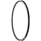 HED Belgium Plus 25mm Rim 32h with Machined Side Wall Black
