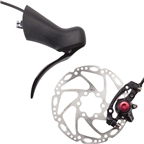 TRP Hylex Hydraulic Disc Brake system for Road Levers Rear Black 160mm Rotor