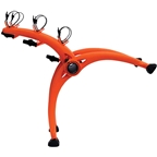 Saris Bones Trunk Rack: 3-Bike Orange