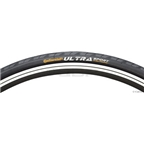 Continental Ultra Sport II Tire 700 x 25 Black Folding Bead