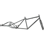 Surly Big Dummy Frameset SM Asphalt Gray