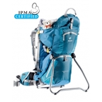 Deuter Kid Comfort II Backpack/ Child Carrier: Arctic Denim