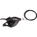 SRAM X01DH 7 Speed Rear Shifter Black with Cable, Housing Sold Separately