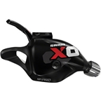 SRAM X0 2 x 10 Trigger Shifter Set with Handlebar Clamp Black/Red