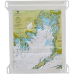 Seattle Sports Dry Doc Map Case with Lashpoints: Clear LG