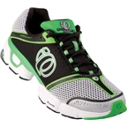 Pearl Izumi SyncroFloat IV Run Shoe: Black/Fairway~ Men's US 10.5