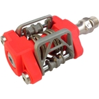 """MKS US-B Step-In Mountain Pedal: 9/16"""" Red"""