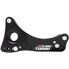 X-Lab Turbo Wing Water Bottle Cage Mount: Black