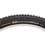 "Continental Mountain King 27.5 x 2.4"" ProTection Folding Bead with Black Chili Rubber (650b)"