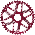 e*thirteen Extended Range Cog 40t, Shimano 34t Compatible  Red