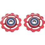 CeramicSpeed Pulley Wheels, SRAM 11 Speed - Red