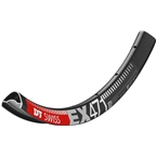 """DT Swiss EX 471 26"""" Tubeless Ready Rim 28h Black with Squorx Nipples and Rim Washers"""