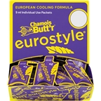 Paceline Eurostyle Chamois Butt'r: 0.3 oz Packet POP Box of 75