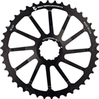 Wolf Tooth Components 42T GC cog for Shimano 11-36 10-speed Cassettes, Black