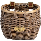 Nantucket Tuckernuck Front Basket, Classic Shape Gray