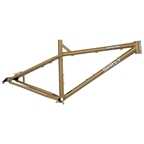 "Surly Instigator 2.0 MDS Frame Only XS Trans Am Gold with 2 Black 26"" Rabbit Hole Rims"
