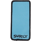Surly Rectangle Patch: Blue