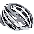 Lazer Z1 Helmet: White and Silver