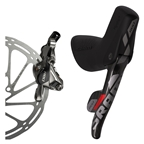 SRAM Red 22 Right Rear Disc Brake and DoubleTap Lever, 1800mm Hose