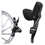 SRAM Force 22 Right Rear Disc Brake and DoubleTap Lever, 1800mm Hose