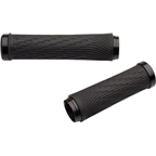 SRAM XX1 Locking Grips for GripShift - 100mm Right / 122mm Left with Black Clamps and End Plugs