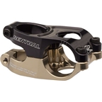 "Renthal Duo Stem: 40mm 10 Degree 31.8mm 1-1/8"" Black / Gold"