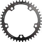 Wolf Tooth Components 44t 130bcd Drop-Stop Chainring, Black