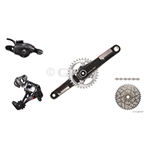 2014 XX1 Trigger Shift GXP 170mm 168Q Kit-In-A-Box No Chain Ring, No Brakes, No Bottom Bracket