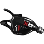 SRAM X01 11-Speed Trigger Shifter Includes Handlebar Clamp Black with Red and White logo