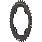 SRAM/Truvativ X0 and X9 38T 104mm BCD 10-Speed GXP Chainring with Over- shift Pin
