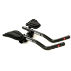Profile Design T3 Plus Aerobar clip ons with J2 Bracket and F19 Armrest Black