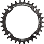Wolf Tooth Components 30t 104bcd Drop-Stop Chainring, Black