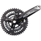 SR Suntour Crankset XCR-6 9 speed 44/32/22 175mm Octalink, Black