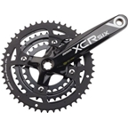 SR Suntour Crankset XCR-6 9 speed 48/36/26 170mm Octalink, Black