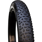 "Vee Rubber H-Billie Fat Bike Tire: 26 x 4.25"" 120tpi Folding Bead Silica Compound Black"