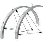 SKS B42 Commuter II Fender Set: Silver 700 x 25-35